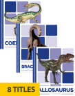 Dinosaurs (Set of 8) Cover Image