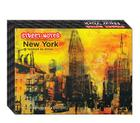 Street Notes-New York Artwork by AVone (Note Cards): 16 Assorted Note Cards & Envelopes Cover Image