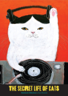 The Secret Life of Cats Notebook Collection: (Funny Kitty Portrait Journals by Japanese Artist, 3 Blank Notebooks with Cute and Weird Cat Illustrations) Cover Image