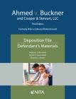 Ahmed V. Buckner and Cooper & Stewart, LLC: Deposition File, Defendant's Materials Cover Image