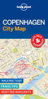 Lonely Planet Copenhagen City Map Cover Image