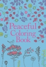 Peaceful Coloring Book Cover Image