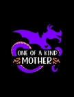 One Of A Kind Mother: Weekly Homework Tracking Notebook and Monthly Calendar, Write and Check Off Assignments Elementary School Cover Image