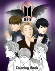 BTS Coloring Book Cover Image