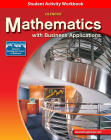 Mathematics with Business Applications, Student Activity Workbook (Lange: HS Business Math) Cover Image