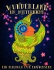 Wunderland Um Mitternacht: Ein Malbuch Für Erwachsene (Wonderland #2) Cover Image