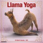 Llama Yoga 2021 Wall Calendar Cover Image