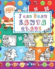 I can Draw Santa Claus for Kids: Easy and fun Activity Book for Kids Cover Image