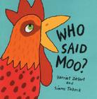 Who Said Moo? Cover Image