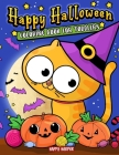 Toddler Halloween Coloring Book Cover Image
