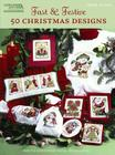 Fast & Festive 50 Christmas Designs: Cross Stitch Cover Image