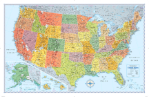 Signature Edition U.S. Wall Map (Folded) Cover Image