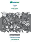 BABADADA black-and-white, Hausa - Basa Jawa, kamus mai hoto - kamus visual: Hausa - Javanese, visual dictionary Cover Image