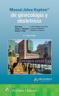Manual Johns Hopkins de ginecología y obstetricia Cover Image
