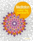 Meditation Color by Numbers Cover Image
