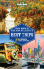 Lonely Planet New York & the Mid-Atlantic's Best Trips 3 (Trips Regional) Cover Image