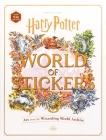 Harry Potter World of Stickers: Art from the Wizarding World Archive Cover Image