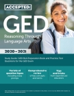 GED Reasoning Through Language Arts Study Guide: GED RLA Preparation Book and Practice Test Questions for the GED Exam Cover Image