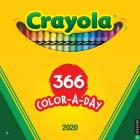 Crayola 2020 Wall Calendar: 366 Crayon Colors Cover Image