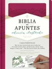 RVR 1960 Biblia de apuntes, edición ilustrada, símil piel rosado Cover Image