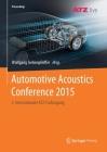 Automotive Acoustics Conference 2015: 3. Internationale Atz-Fachtagung (Proceedings) Cover Image