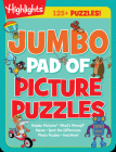 Jumbo Pad of Picture Puzzles (Highlights Jumbo Books & Pads) Cover Image