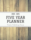 2020 - 2024 - Five Year Planner: Weekly Schedule Organizer - Agenda Planner For The Next Five Years, 60 Months Calendar, Appointment Notebook, Weekly Cover Image