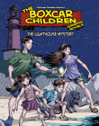 The Lighthouse Mystery (The Boxcar Children Graphic Novels #14) Cover Image