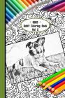 Dogs Adult Coloring Book Vol 2: 6 X 9 Paperback 90 Pages of Gorgeous Dogs of All Kinds to Colour Colourmekind Cover Image