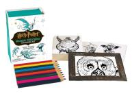 Harry Potter Magical Creatures Coloring Kit (RP Minis) Cover Image