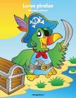 Loros piratas libro para colorear 1 Cover Image