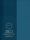 The Treasure of Wisdom - 2022 Executive Agenda - Blue: An Executive Themed Daily Journal and Appointment Book with an Inspirational Quotation or Bible Cover Image