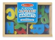 Magnetic Wooden Alphabet: Skill Builders - Magnetic Activities Cover Image