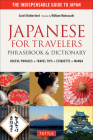 Japanese for Travelers Phrasebook & Dictionary: Useful Phrases + Travel Tips + Etiquette + Manga Cover Image