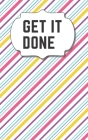 Get It Done: Password Log Book With Alphabetical Tabs, Address Website & Password Record Manager, Christmas Discreet Cover Booklet Cover Image