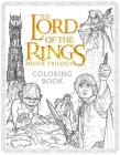 The Lord of the Rings Movie Trilogy Coloring Book Cover Image