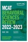 MCAT 2022-2023: Behavioural Sciences Review Cover Image