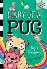 Pug's Sleepover: A Branches Book (Diary of a Pug #6) (Library Edition) Cover Image