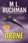 Drone: an NTSB / Military technothriller - Large Print Cover Image
