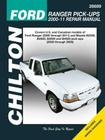 Chilton-Tcc Frd Ran Pu 00-11 Mazda B Pu 00-09 (Chilton's Total Car Care Repair Manuals) Cover Image