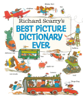 Richard Scarry's Best Picture Dictionary Ever (Giant Little Golden Book) Cover Image