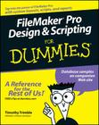 FileMaker Pro Design and Scripting for Dummies Cover Image
