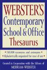 Webster's Contemporary School & Office Thesaurus Cover Image