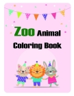 Zoo Animal Coloring Book: Christmas Coloring Pages with Animal, Creative Art Activities for Children, kids and Adults (Early Education #24) Cover Image