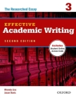 Effective Academic Writing 2e Student Book 3 Cover Image