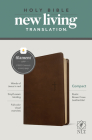 NLT Compact Bible, Filament Enabled Edition (Red Letter, Leatherlike, Rustic Brown) Cover Image