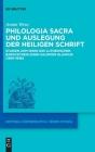 Philologia Sacra und Auslegung der Heiligen Schrift Cover Image