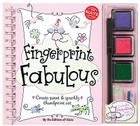 Fingerprint Fabulous: Create Sweet & Sparkly Thumbprint Art [With Sequins and Three Ink Pads and Postcards and Glitter Glue and Marker] Cover Image