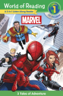 World of Reading Marvel 3-in-1 Listen-Along Reader (World of Reading Level 1): 3 Tales of Adventure with CD! Cover Image