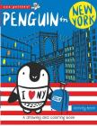 Penguin in New York: A drawing and coloring book (Wee Gallery) Cover Image